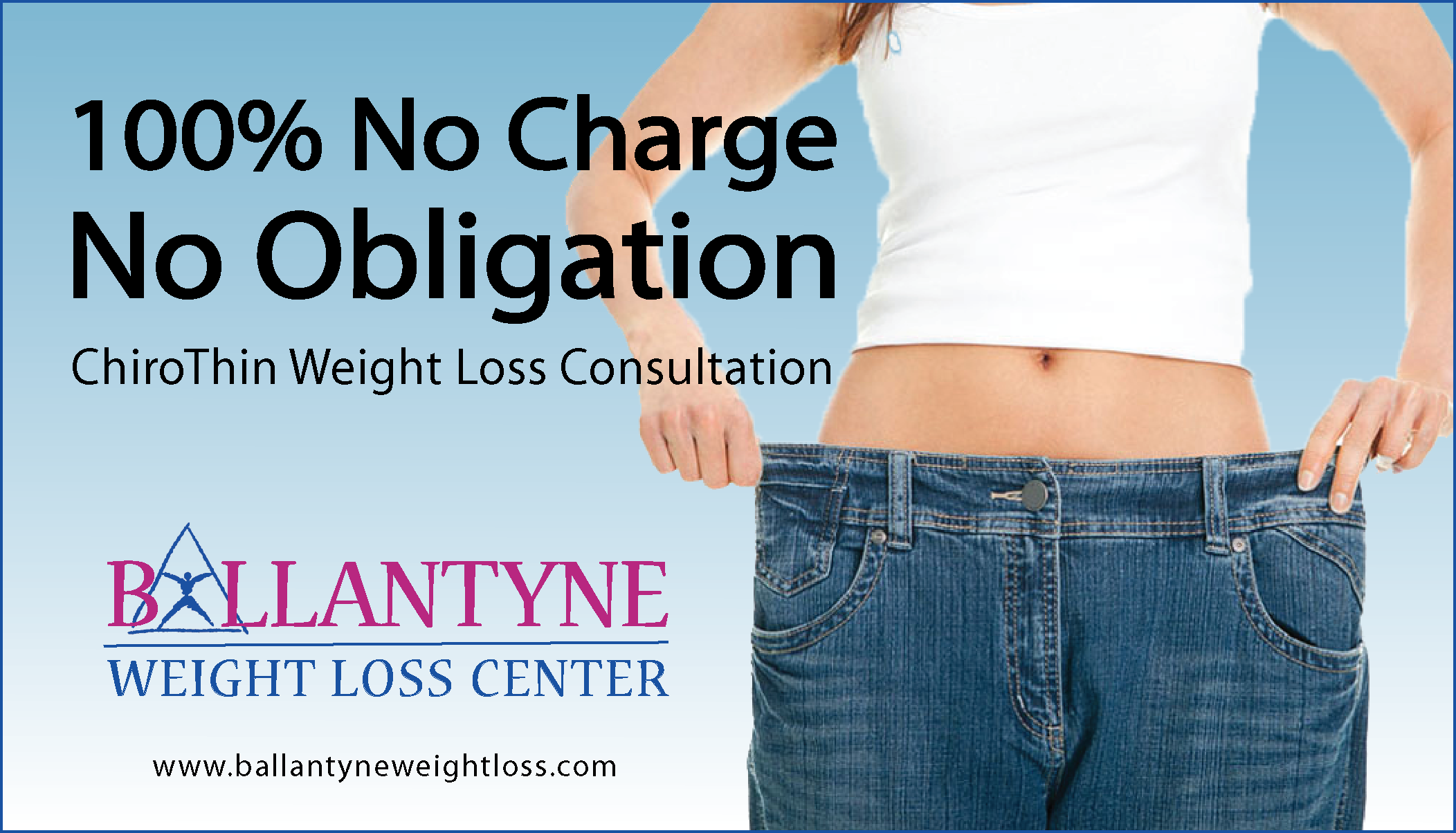 No Charge No Obligation Weight Loss Consultation